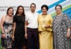 Careers team accepts multiple SAGEA awards