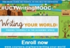 Writing your World MOOC flyer